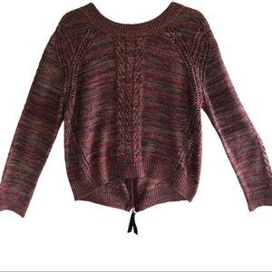 Anthropologie Konrad & Joseph Marled Knit Sweater